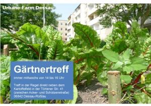 Einladung Gärtnertreff 2015